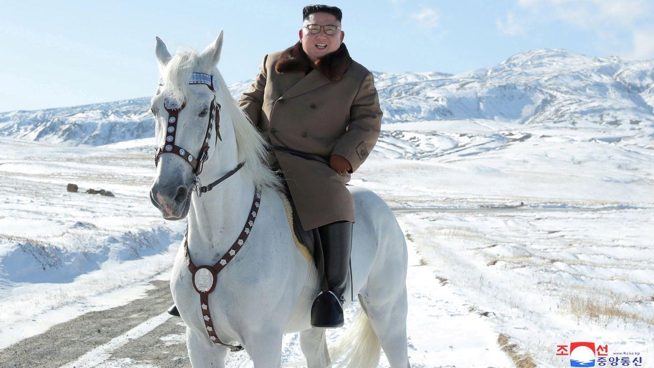 Fotografía de archivo de Kim Jong-un
