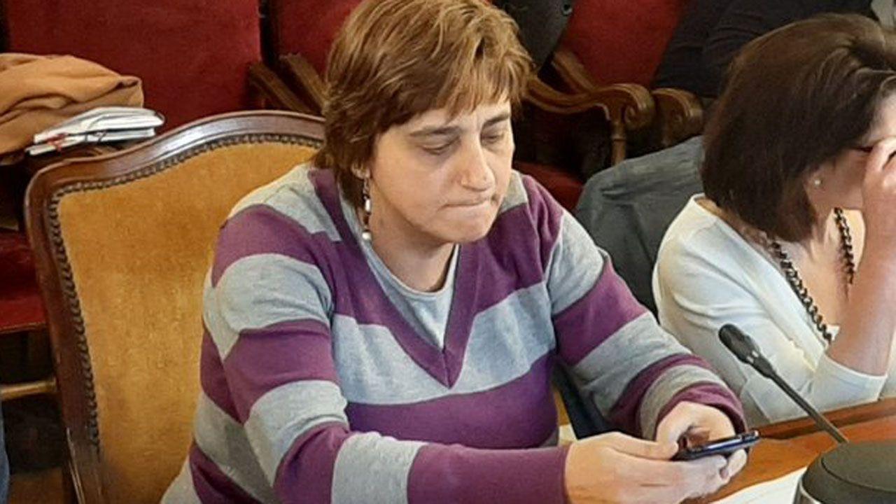Imagen de archivo de la concejala del PSOE en Oviedo, Ana Rivas