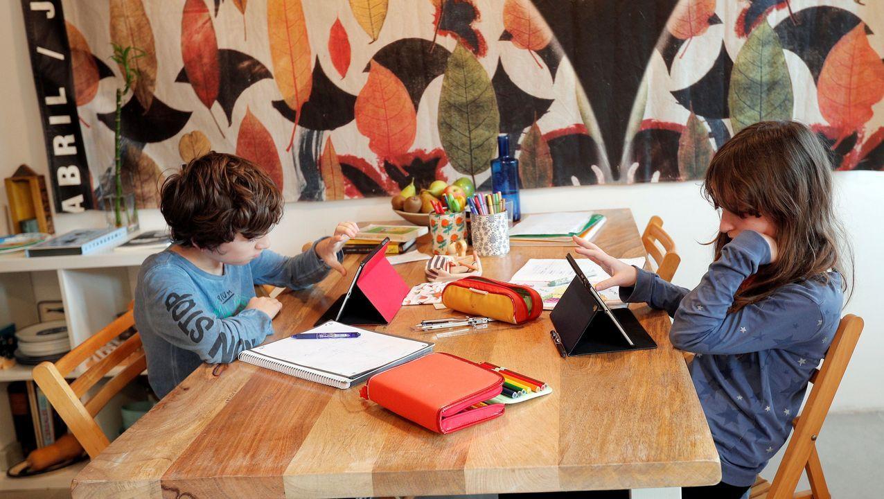 La enseñanza telemática se ha convertido en el pan de cada día de los alumnos desde el 12 de marzo, aunque no todos cuentan con las herramientas necesarias