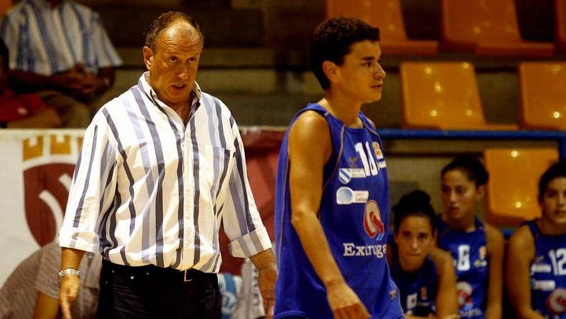 Tito Díaz, en su etapa con el Extrugasa