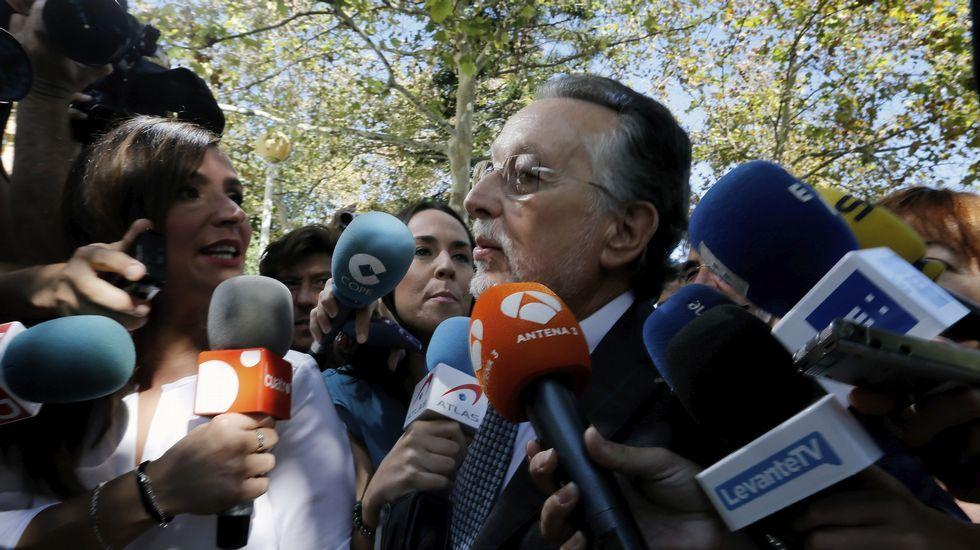 La infanta «satisfecha» por su absolución pero «disgustada» por la condena a Urdangarín.La abogada de Manos Limpias, López Negrete.