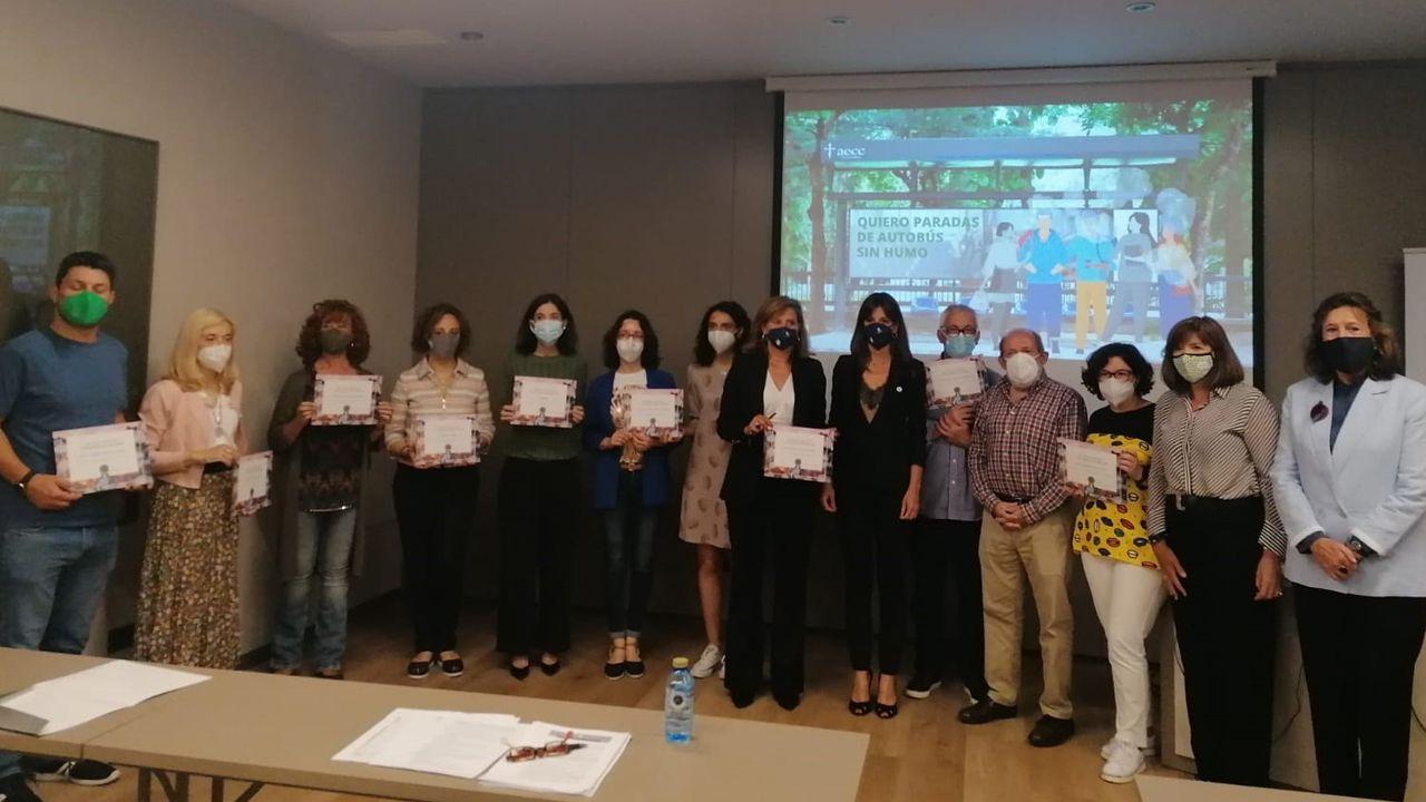 La Asociación Española Contra el Cáncer en Asturias, AECC para dar a conocer los resultados de la campaña #AsturiasSinHumo en la que han participado 15 ayuntamientos.
