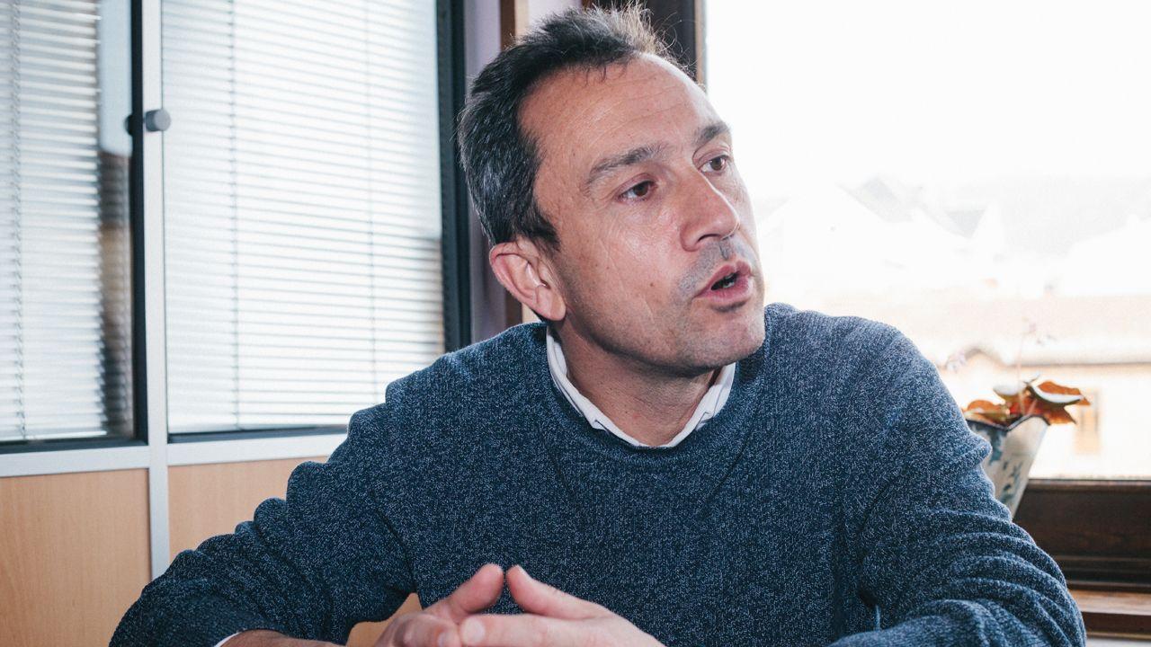 Fractura en el Gobierno de coalición a cuenta de la ley de libertad sexual.El coordinador general de IU de Asturias, Ovidio Zapico