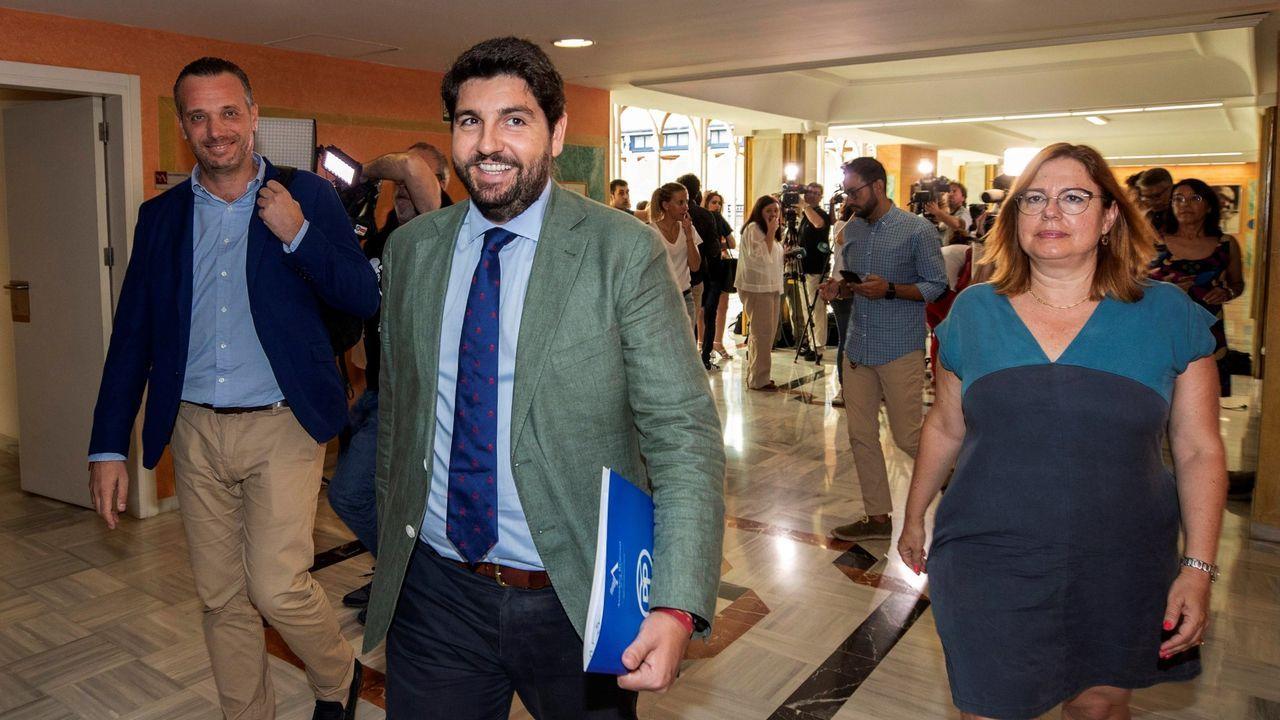 López Miras es presidente de Murcia desde el 2017