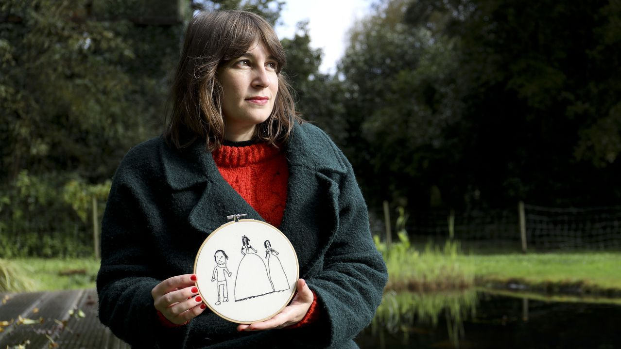 El escritor Oscar Wilde retratado por Karen Arnold