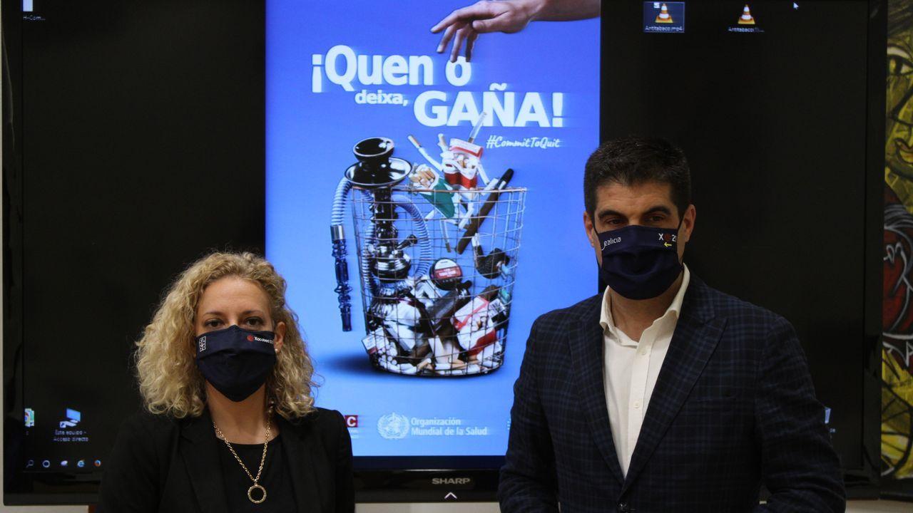 Presentación de la campaña de la Xunta contra el consumo de tabaco