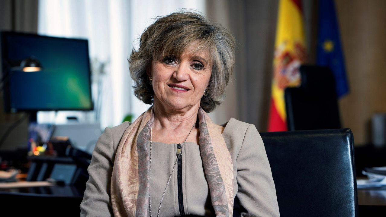 La exministra de Sanidad, María Luisa Carcedo