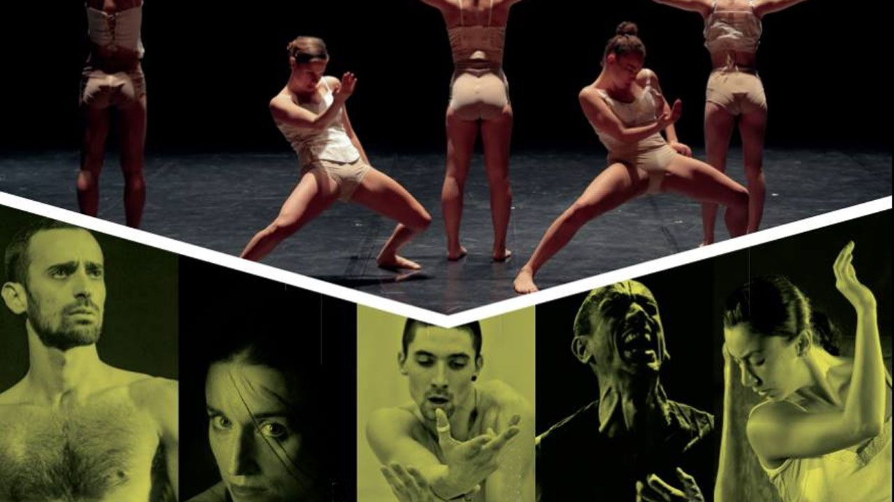 Cartel del Intensive Contemporary Dance Course