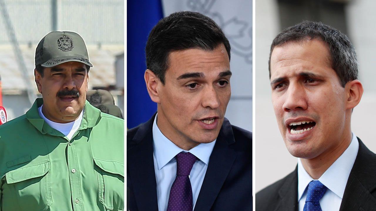 gasolinera, repostar, gasolina, estación de servicio.Sánchez anunció el reconocimiento de la legitimidad de Guaidó y reclamó de nuevo elecciones libres y transparentes