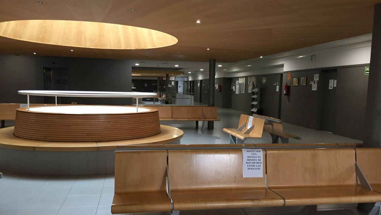 Imagen de archivo del centro de salud de Viveiro
