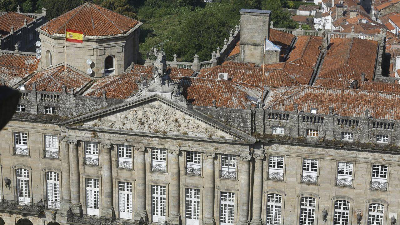 Imagen de archivo de uno de los juzgados de lo social de Vigo