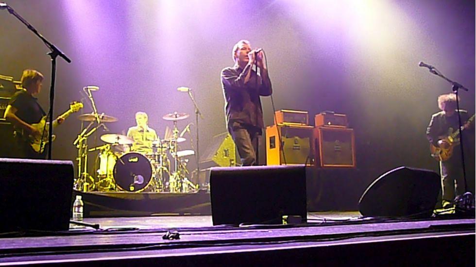 Iván Ferreiro en el concierto que ofreció en el Espacio Mahou Coruña