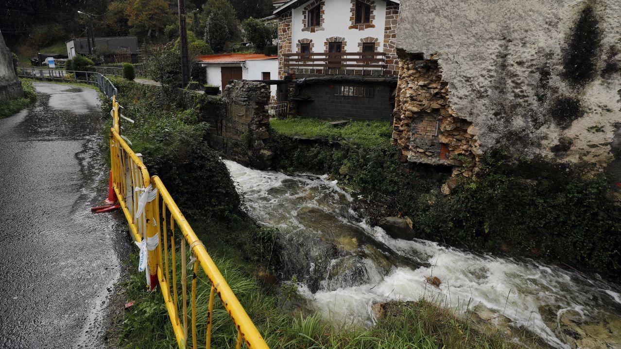 El homenaje por el 25.º aniversario del Dispositivo de Separación de Tráfico Marítimo.Un viaducto en el tramo del AVE Lubián-Ourense