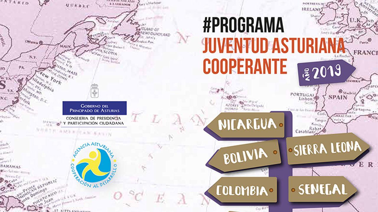 Programa Juventud Asturiana Cooperante 2019.Jóvenes de AEGEE-Oviedo