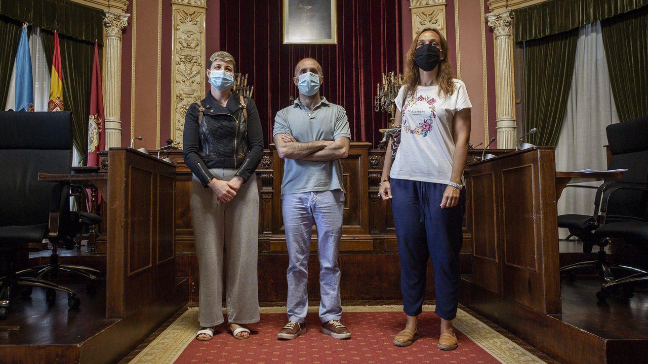 La Diputación recibió recientemente a los miembros del equipo de la película