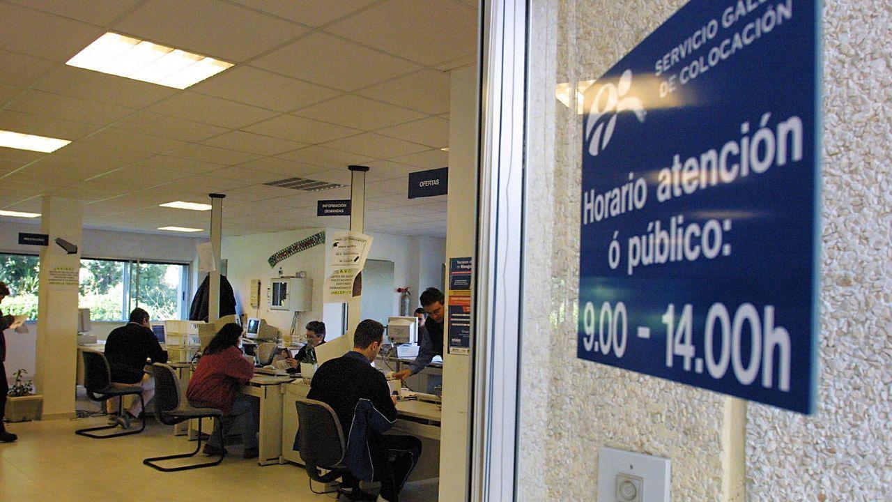 RESUMEN DEL AÑO 2019.En el Hospital Comarcal da Barbanza, en la imagen, están ingresadas cinco personas