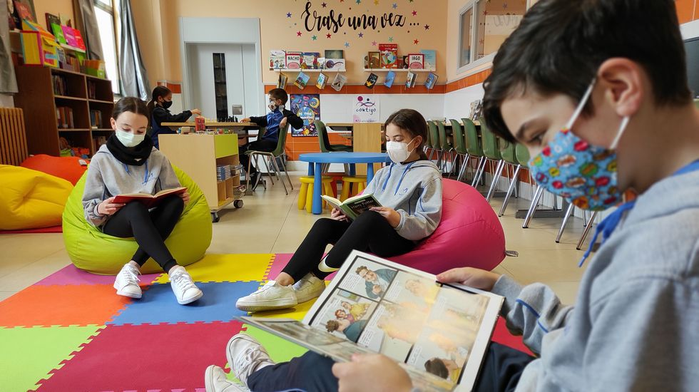 El colegio Maristas de Lugo organiza una charla en línea y cuentacuentos para celebrar el Día del Libro.