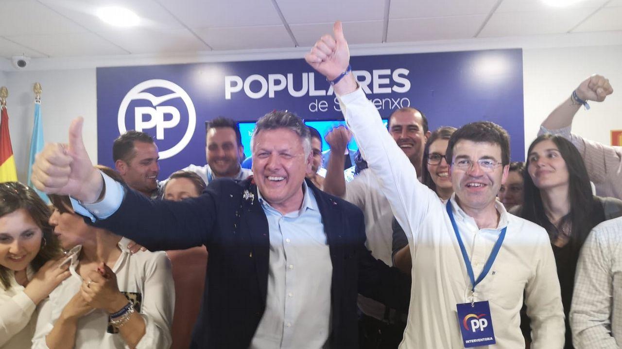 Telmo Martín tendrá mayoría absoluta en Sanxenxo