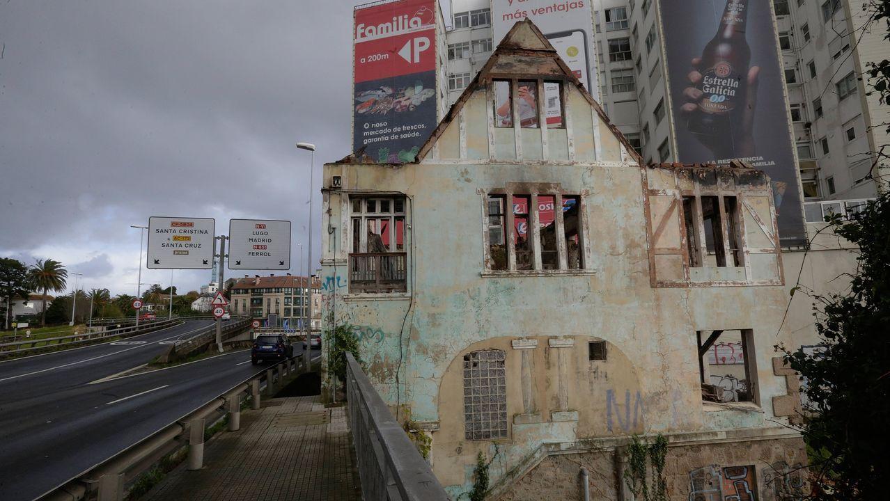 La casa Carnicero fue derribada en la tarde del 31 de diciembre