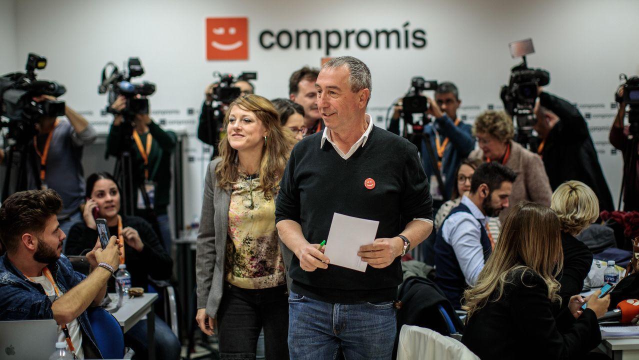 Baldoví, de Compromís, valora los resultados del 10N en la que no consiguió rentabilizar su alianza con Más País