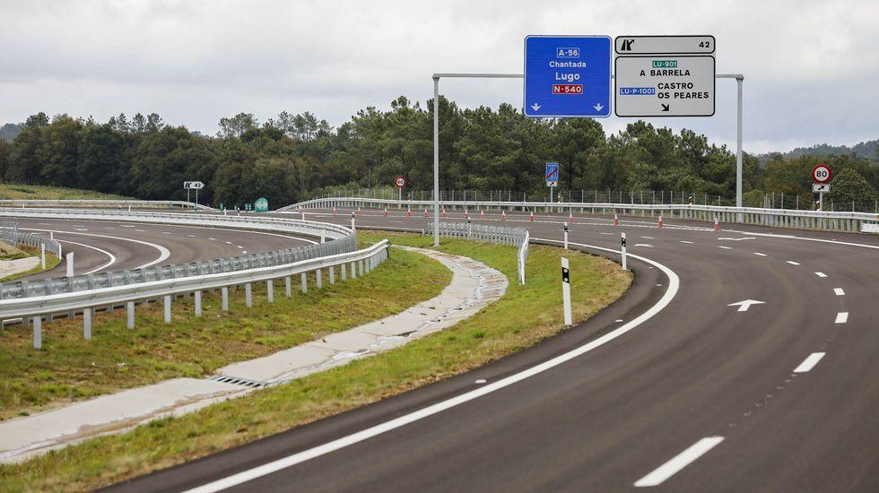 En directo | Comparecencia de Pedro Sánchez tras el Consejo de Ministros.La autovía Lugo-Ourense tiene desde esta semana 8,8 kilómetros construidos y en uso