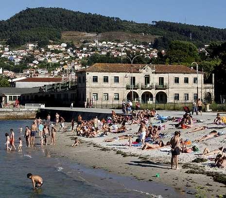 El fallo afecta a un tramo de 2,5 kilómetros entre Redondela y la playa del matadero.