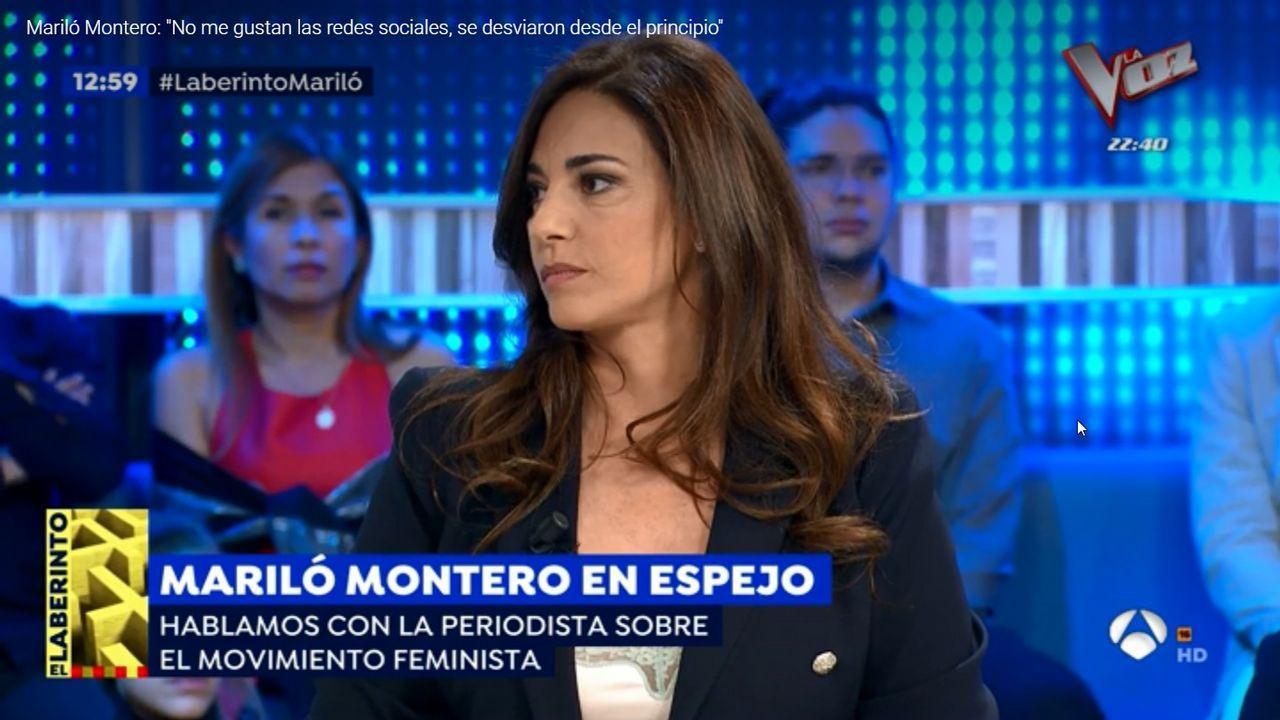 Mariló Montero, en la presentación de los carteles de la Feria de San Isidro