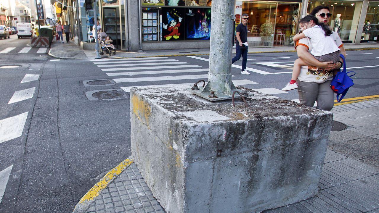 O cadro foi desembalado este mércores na Cidade da Cultura, onde se poderá ver a partir deste venres