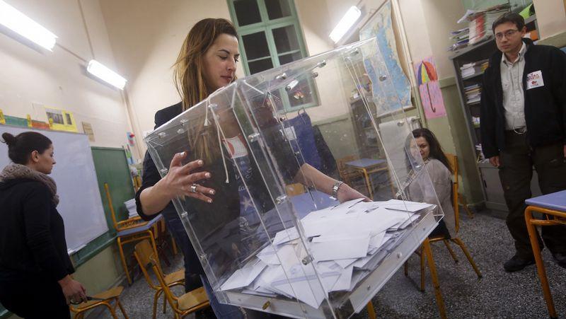 La jornada electoral en Grecia
