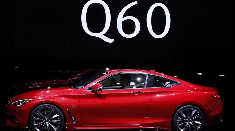 Infiniti Q60 Coupé. Infiniti desveló en Detroit las líneas de su nuevo cupé deportivo de dos puertas y cuatro plazas, que contará con motores de 300 y 400 caballos.