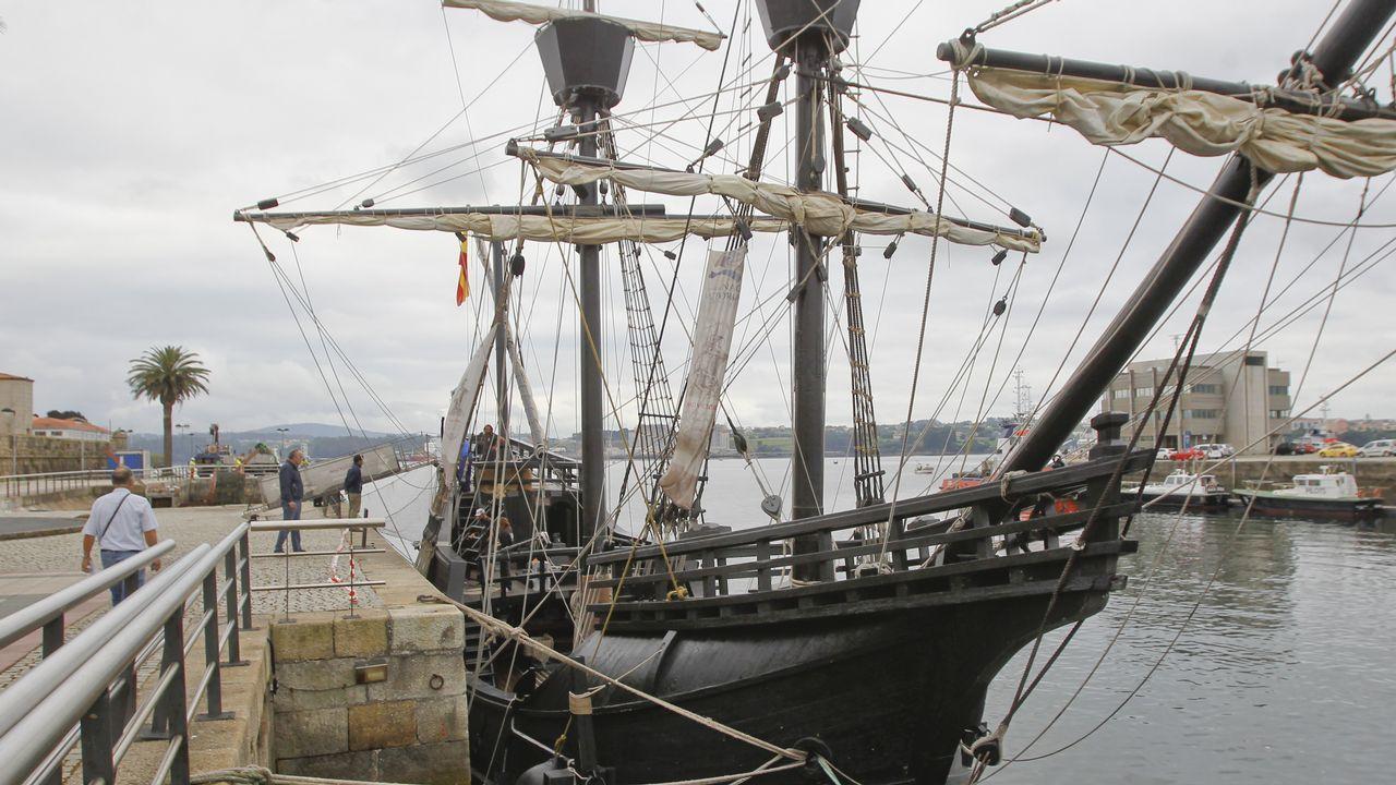 Un museo flotante con mucha historia.Réplica del barco Nao Victoria