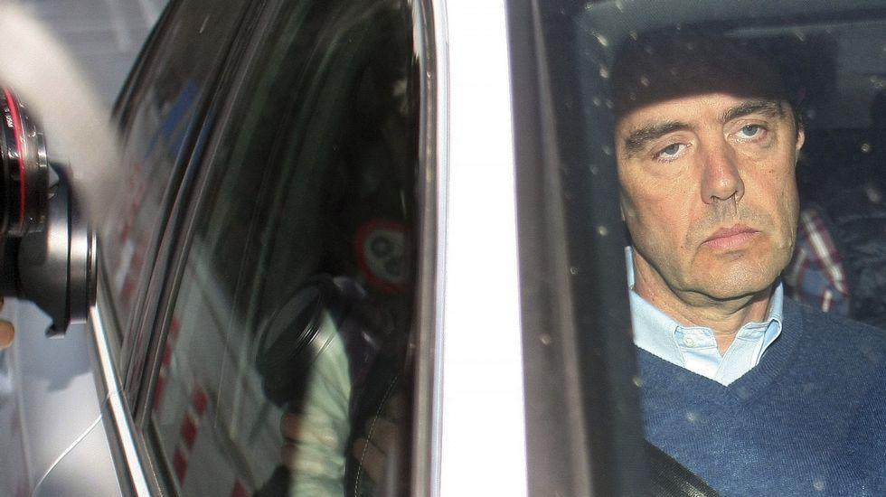 El expresidente de la CAM: «Yo sólo acompañaba a las señoras a comprar bolsos y zapatos».José Antonio Iturriaga