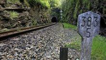 El túnel de Oural será aprovechado para la electrificación de la línea ferroviaria.