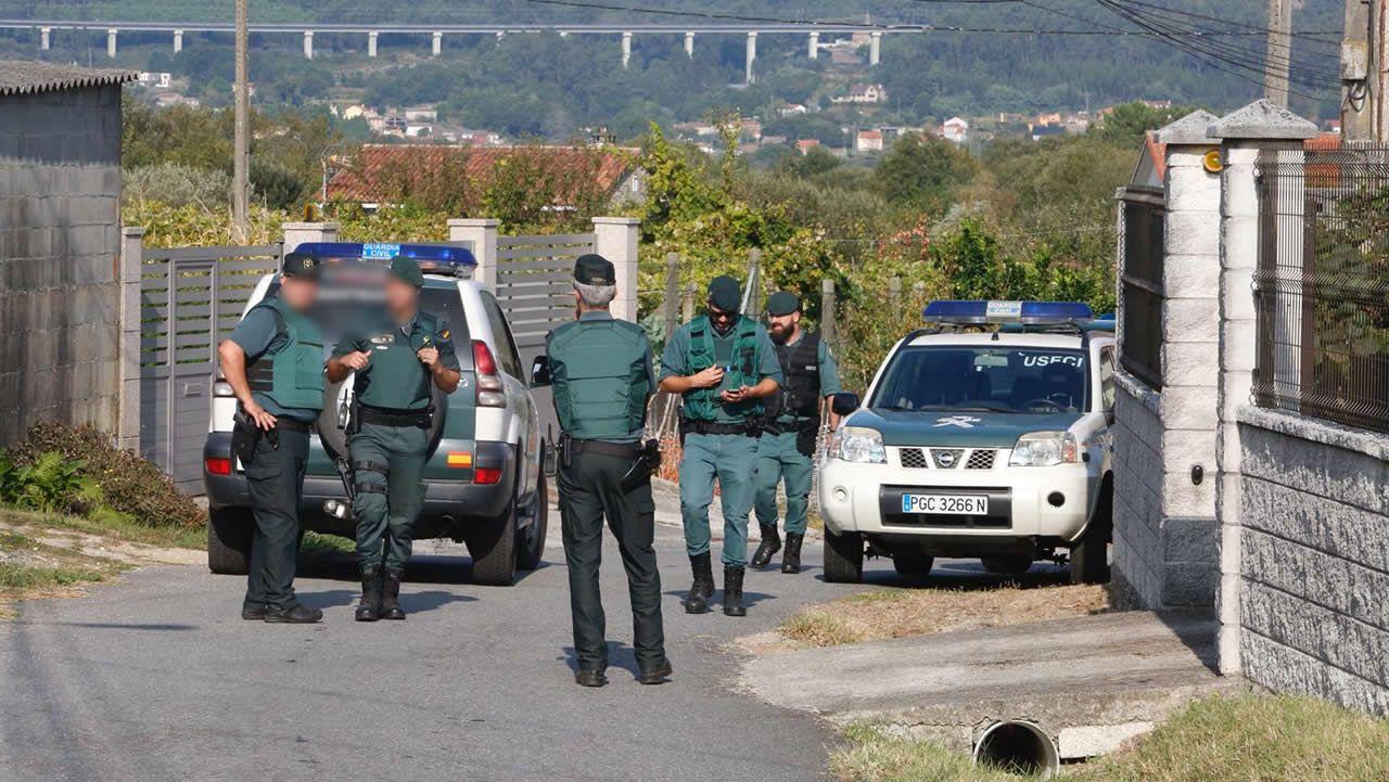 Crimen machista en Valga.Sandra y Alba Boquete, exmujer y excuñada del asesino de Valga