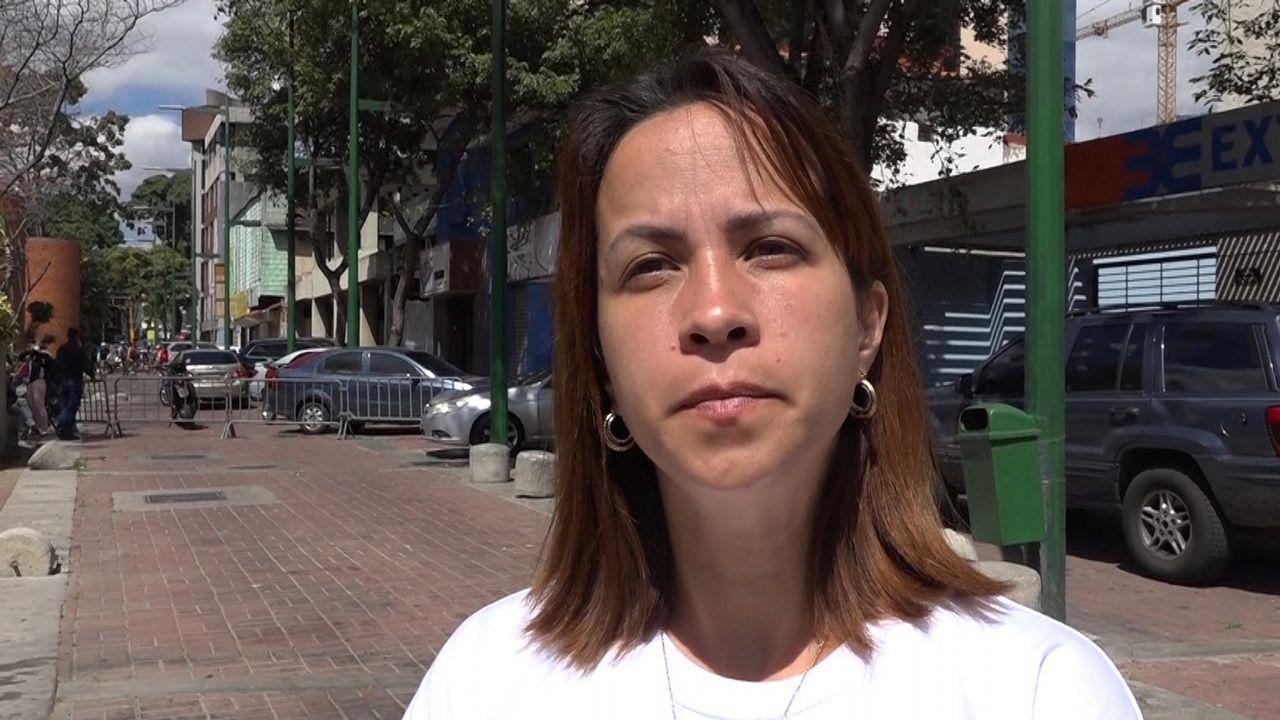 Sheila Pérez, madre de un joven activista preso