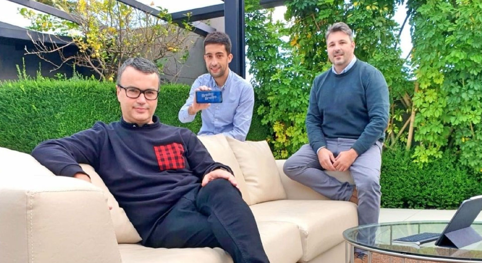 David Fernández y los hermanos Francisco y Mario Pais son los creadores de Breiko Breiko