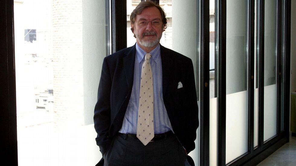 El presidente del Grupo Prisa, Juan Luis Cebrián