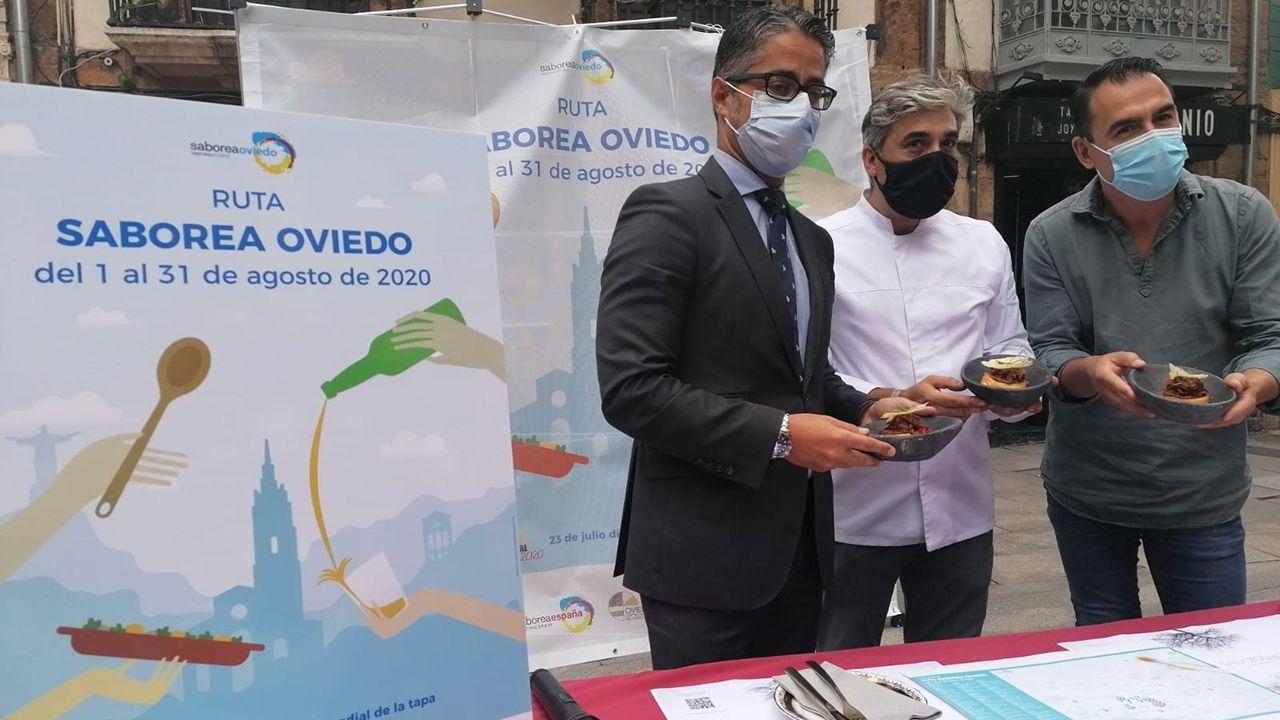Presentanción de la Ruta Saborea Oviedo
