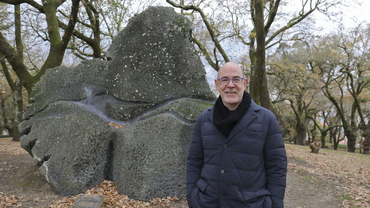 Miguel Anxo Seixas, biógrafo de Castelao