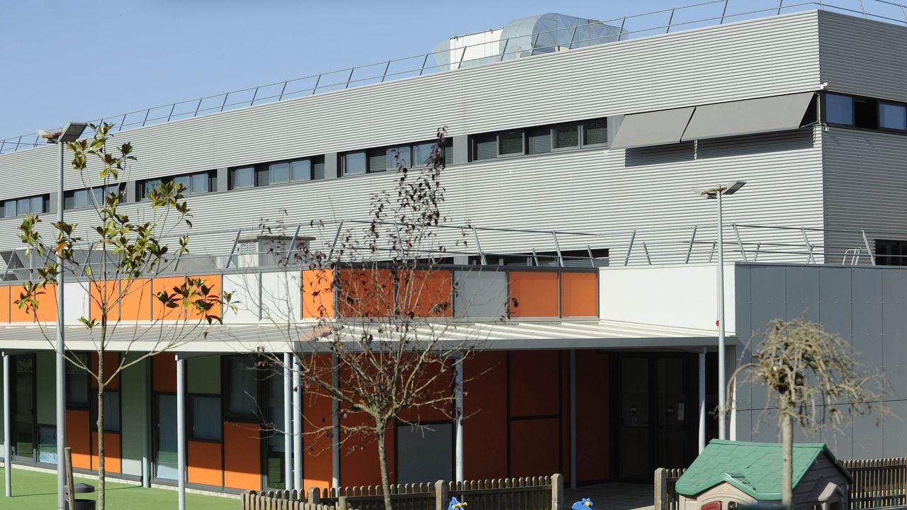 Cribado en el colegio Eduardo Pondal de Ponteceso el pasado día 19 de enero