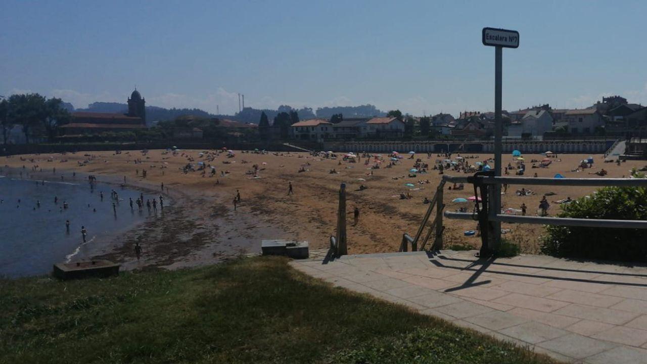 Luanco, en verano