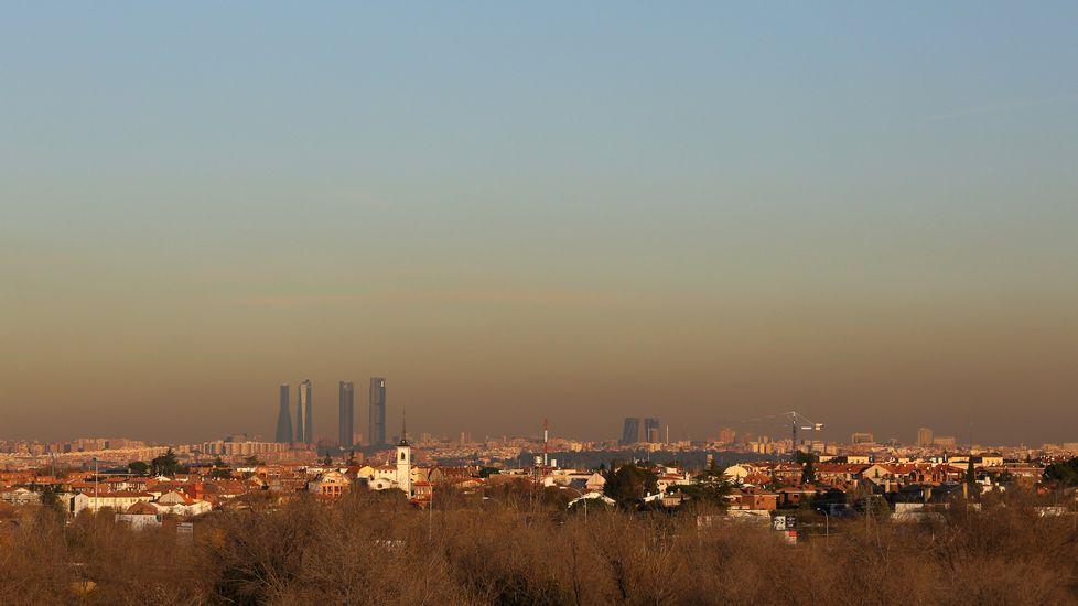 Activado para mañana el protocolo 3 por alta contaminación en Madrid.Álvaro Ojeda en una foto de su perfil de twitter