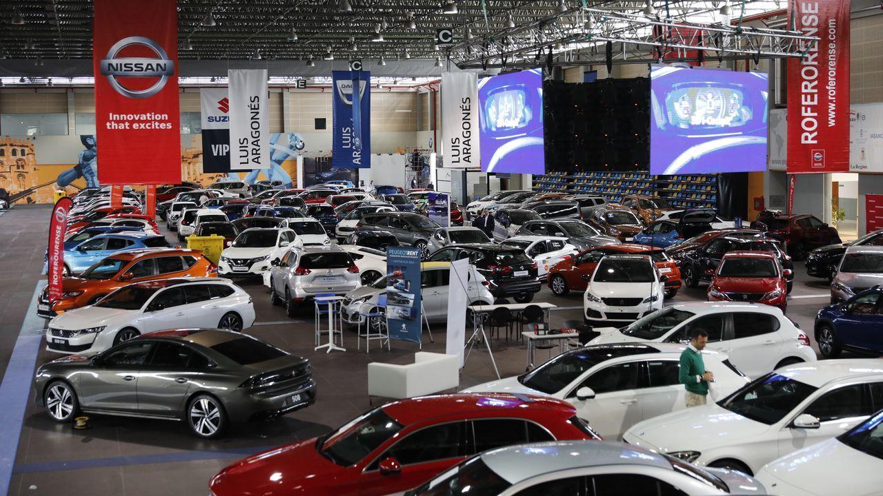 Diez apuestas seguras en el salón del automóvil de Ourense.Margarita Martínez