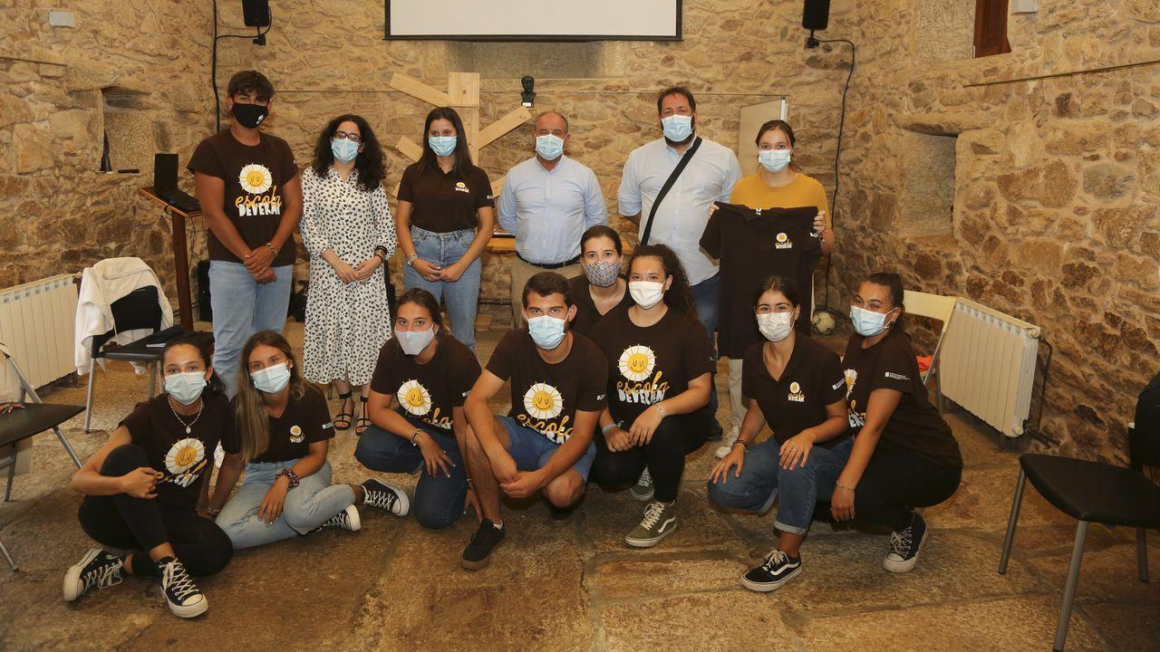 Operativo de protección civil en Lugo durante el estado de alarma