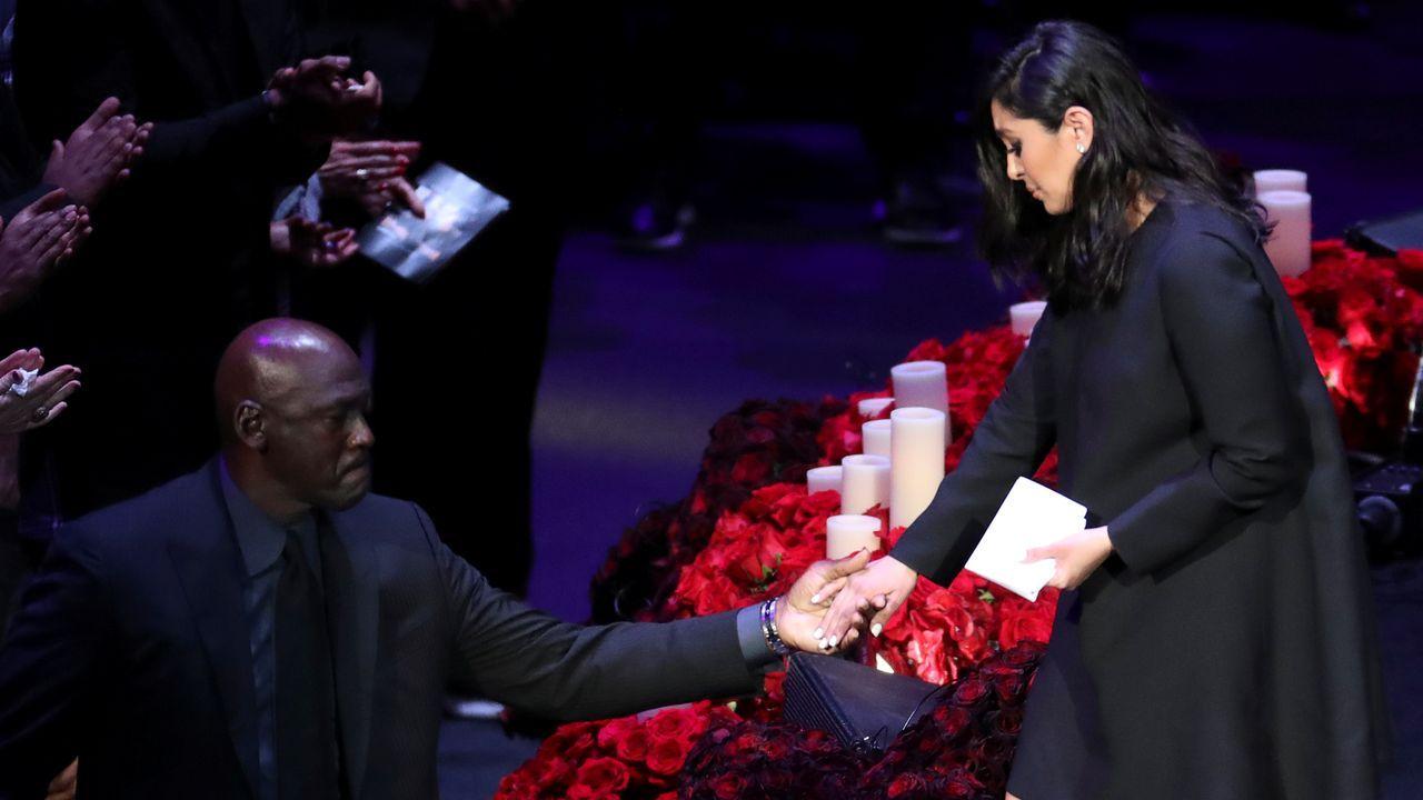 Emotiva despedida a Kobe Bryant en el Staples Center de Los Ángeles.Foto: Leche Río Breogán