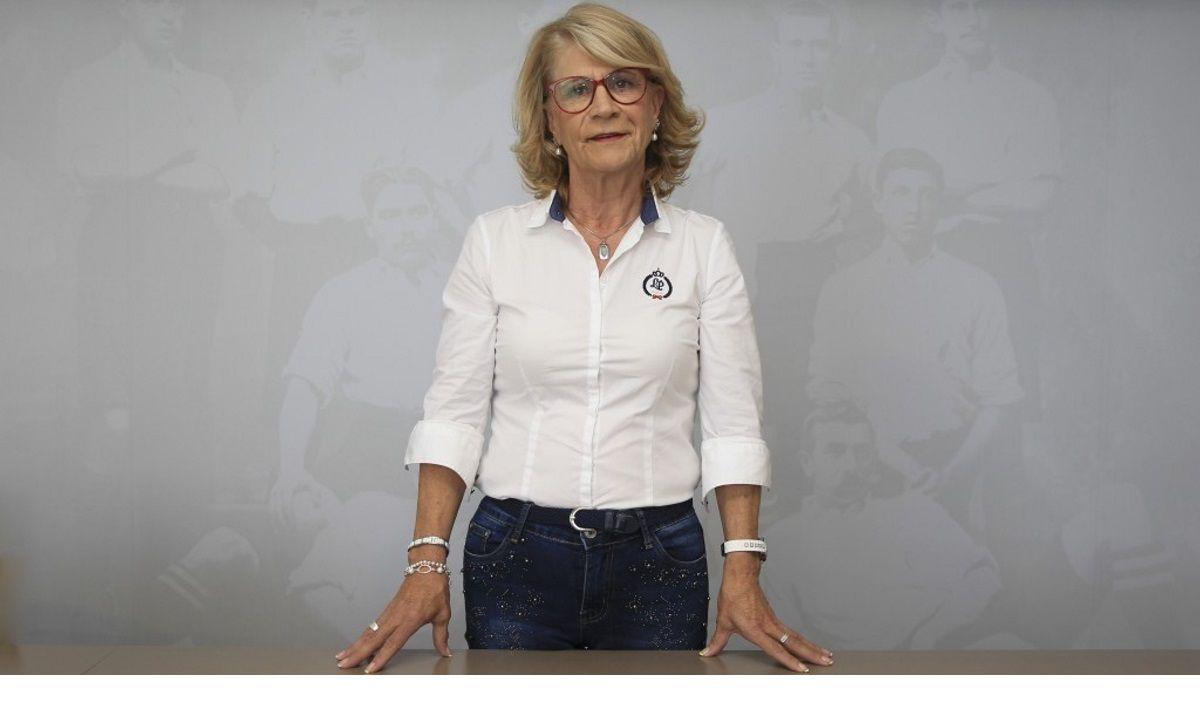 Oliva Figueira, vicepresidenta de la Fundación RC Deportivo (Foto: RCD).