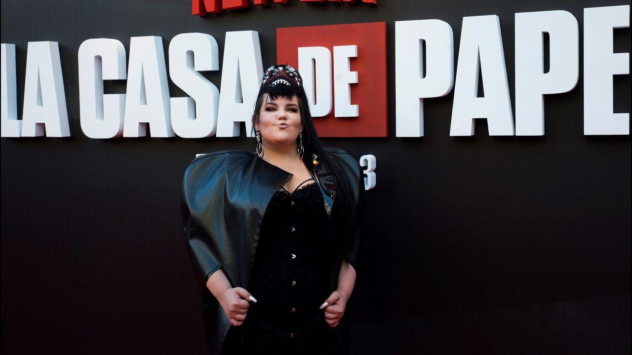 La cantante israelí Netta Barzilai