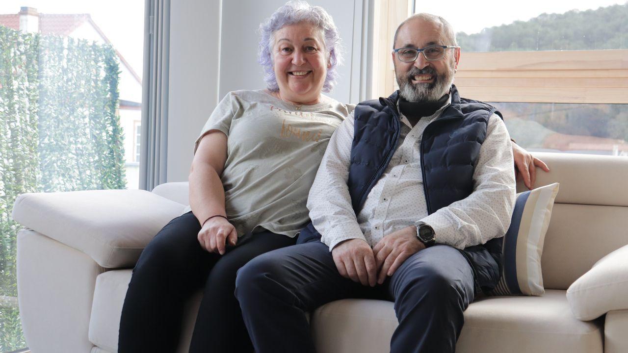 Lucinda Caamaño Y José Manuel Calvo abrieron su primer alojamiento en Outes hace 16 años