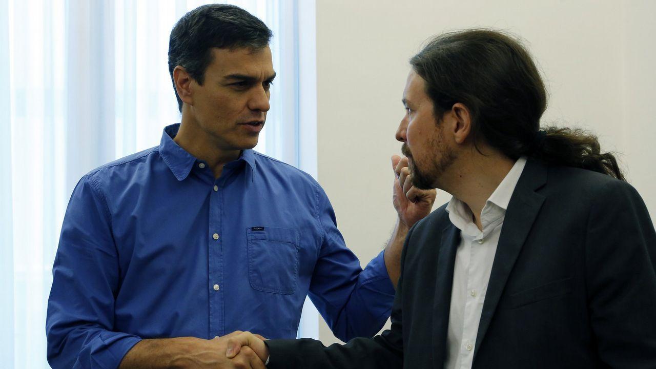 Pedro Sánchez y Pablo Iglesias, en una imagen de archivo