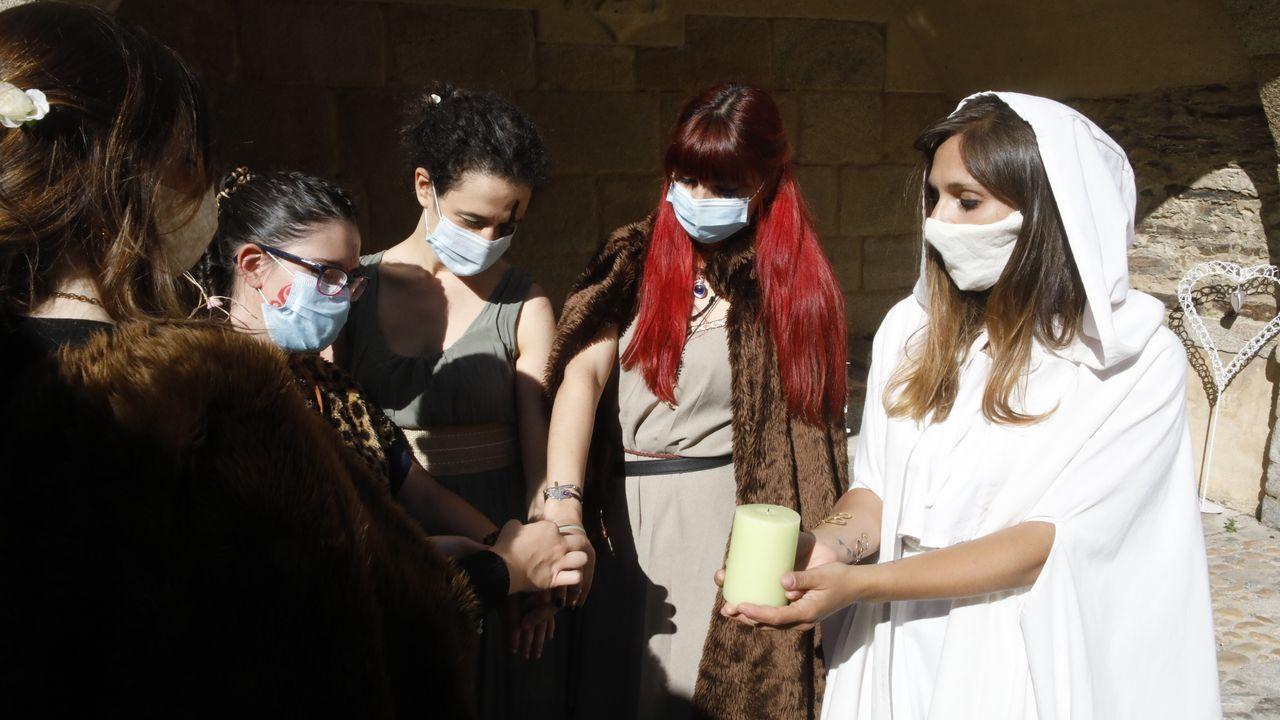 Se mantuvo la tradición de las bodas celtas